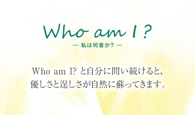 私は何者か?