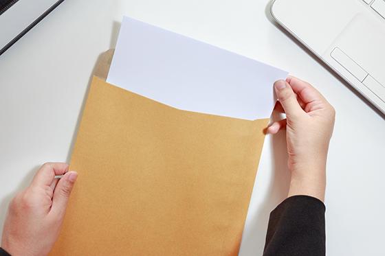 教材使用許諾契約書と請求書